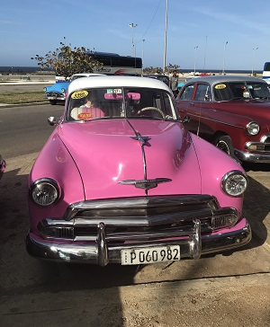 50s car in Havana